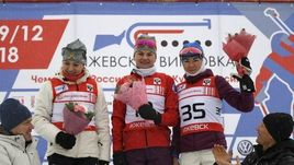 (слева направо) Маргарита Васильева, Наталья Гербулова и Лариса Куклина.