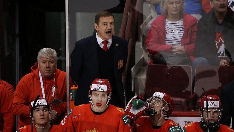 27 декабря. Ванкувер. Россия – Дания – 4:0. Валерий Брагин. Фото ФХР