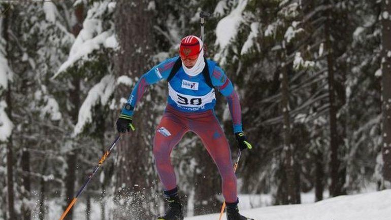 Семен Сучилов. Фото Союз биатлонистов России/biathlonrus.com