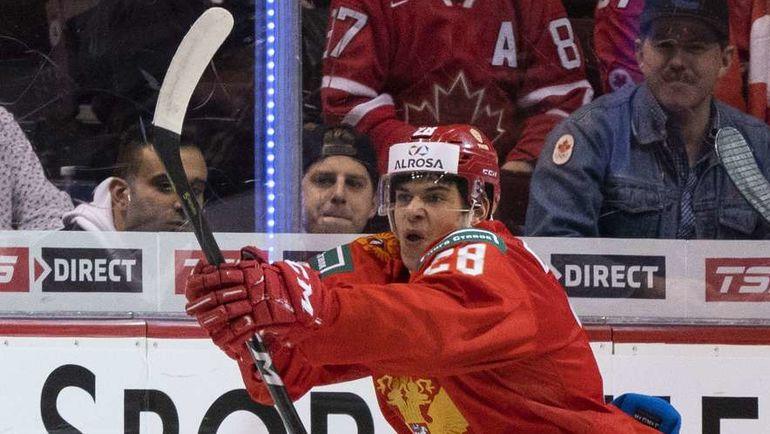31 декабря. Ванкувер. Россия - Канада - 2:1. Григорий Денисенко реализует большинство.