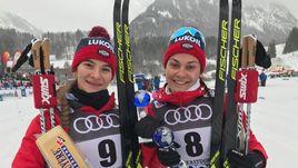 Наталья Непряева (слева) и Анастасия Седова.