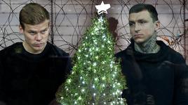 """Как празднуют Новый год сидящие в """"Бутырке"""" Кокорин и Мамаев."""