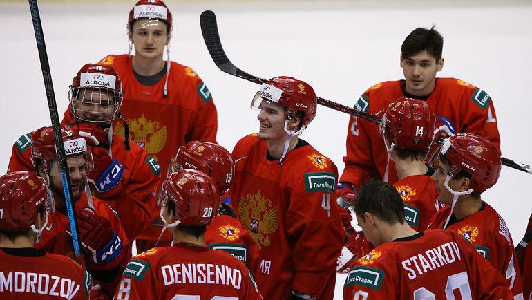 Сборная России: плей-офф МЧМ без финала. Фото ФХР