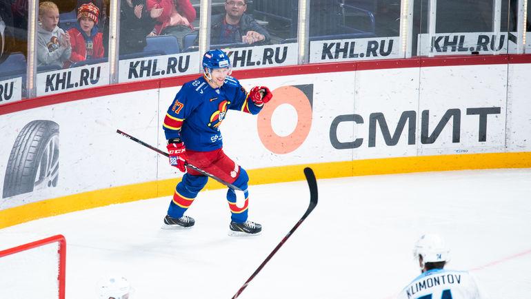 """Йокерит"" одержал победу над ""Сибирью"". Фото Пресс-служба ХК ""Йокерит"""