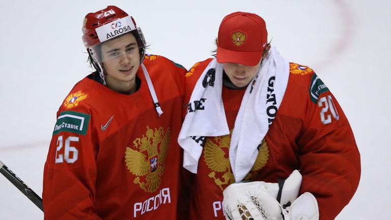 Александр Романов (слева) и Петр Кочетков. Фото ФХР