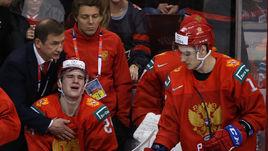 4 января. Ванкувер. Россия - США - 1:2. Валерий Брагин и Клим Костин.