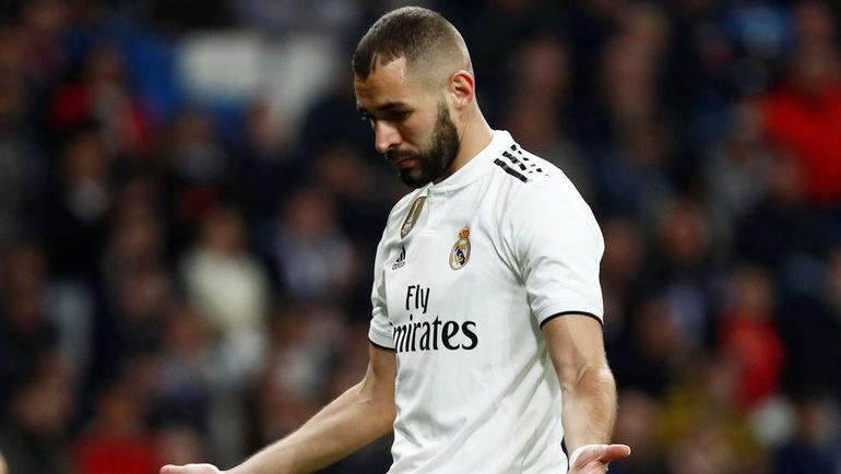 """6 января. Мадрид. """"Реал"""" - """"Реал Сосьедад"""" - 0:2. Карим Бензема. Фото Reuters"""