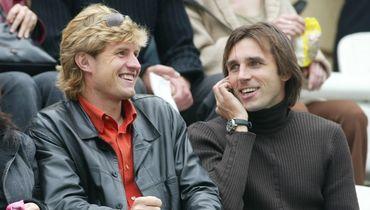 2003 год. Сергей Шустиков (слева) и Олег Корнаухов. Фото Александр Федоров, «СЭ»