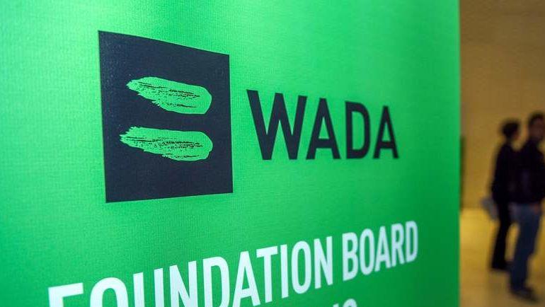 Логотип ВАДА. Фото AFP
