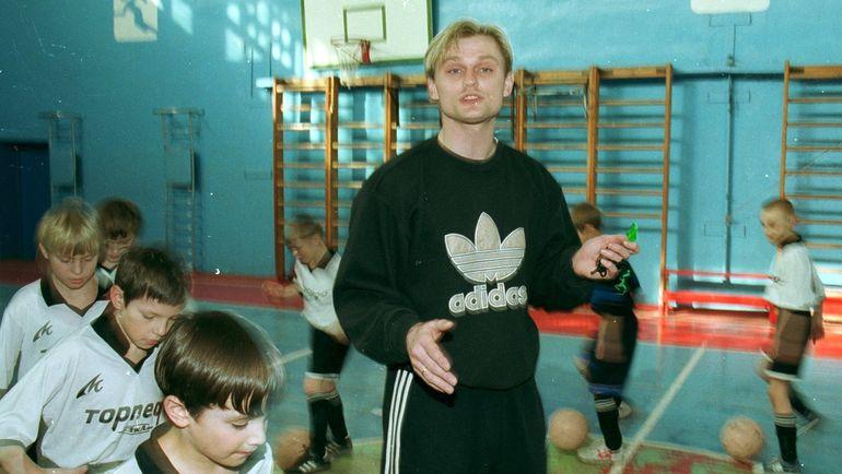 "2000 год. Юрий Тишков. Фото Александр Федоров, ""СЭ"""