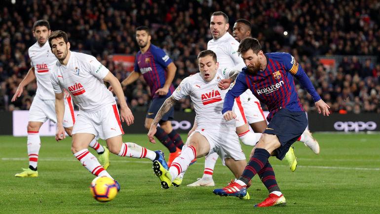 Сколько голов футболистов испанской лиги