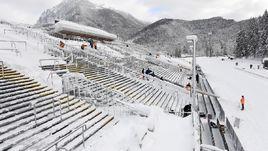 Сорвет ли снег этап в Рупольдинге? Серьезные опасения