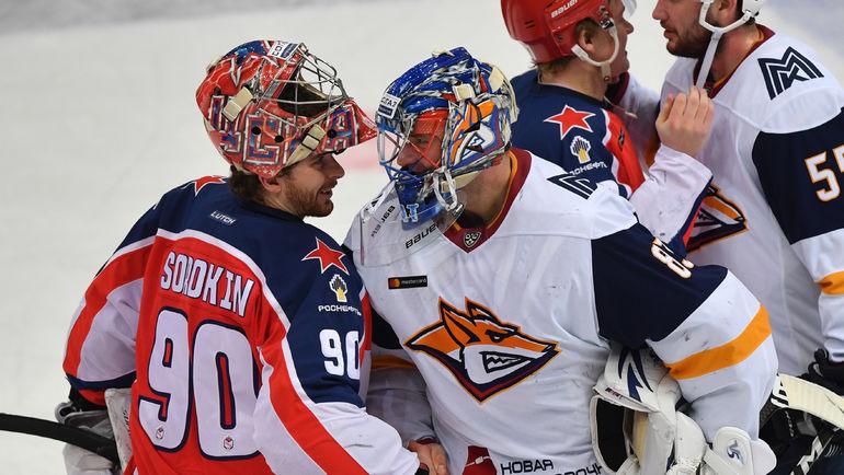 """Илья Сорокин (слева) и Василий Кошечкин. Фото Александр Федоров, """"СЭ"""""""