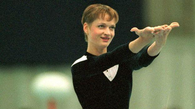 1998 год. Светлана Хоркина. Фото Дмитрий Солнцев