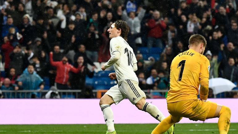Футбол испании матч реал- севилья