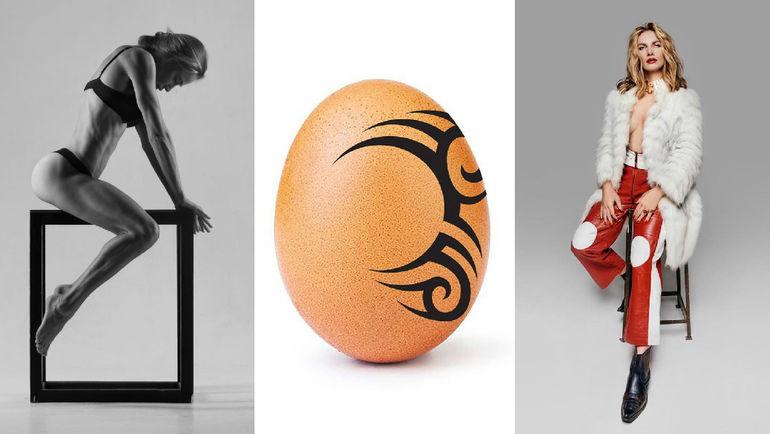"""Николь Ковальчук, яйцо с татуировкой Майка Тайсона и Светлана Кузнецова. Фото """"СЭ"""""""