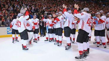 Сборная Канады - победитель Кубка мира-2016. Фото AFP