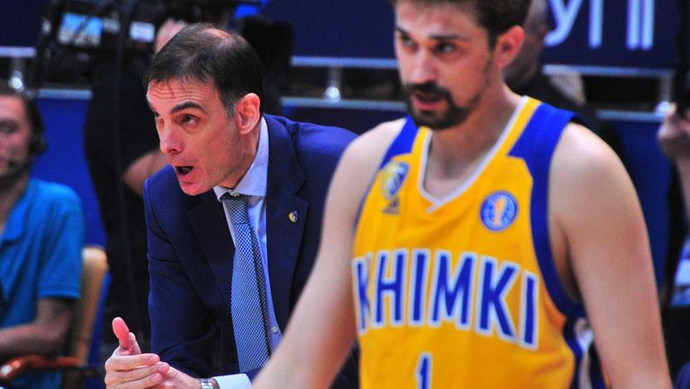 Георгиос Барцокас и Алексей Швед. Фото Федор Никитин