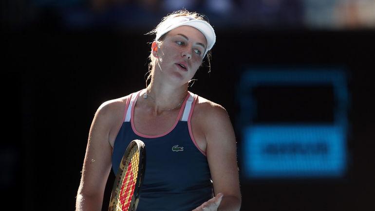 22 января. Анастасия Павлюченкова проиграла американке Даниэле Коллинз на Australian Open. Фото Reuters