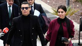 22 января. Мадрид. Криштиану Роналду и Джорджина Родригес.