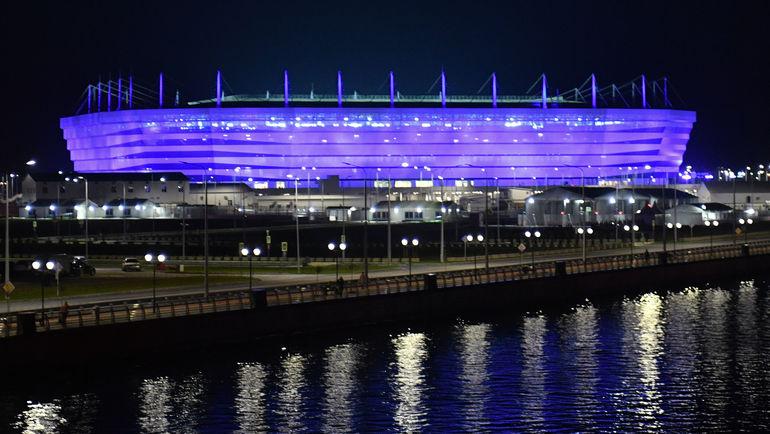 "Стадион ЧМ-2018 в Калининграде. Фото Александр Федоров, ""СЭ"""