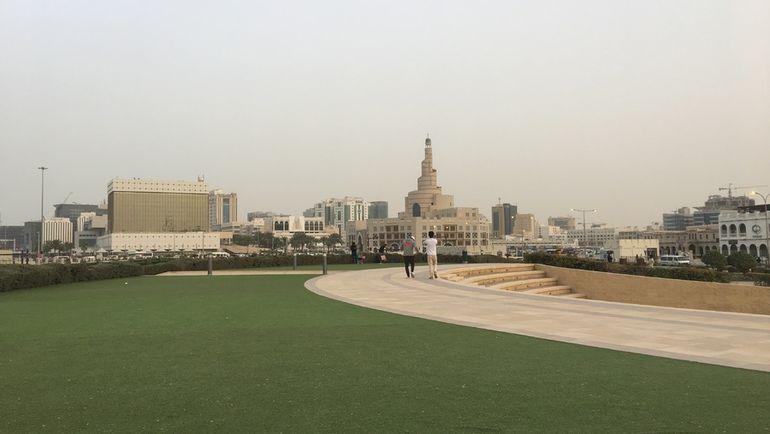 """Так сейчас выглядит столица Катара, которая через без малого четыре года примет чемпионат мира-2022. Фото Гоша Чернов, """"СЭ"""""""