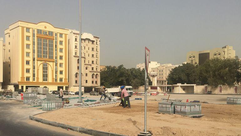 """Сейчас Доха - одна большая стройка. Фото Гоша Чернов, """"СЭ"""""""