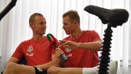 Владислав Игнатьев (слева) и Дмитрий Тарасов.