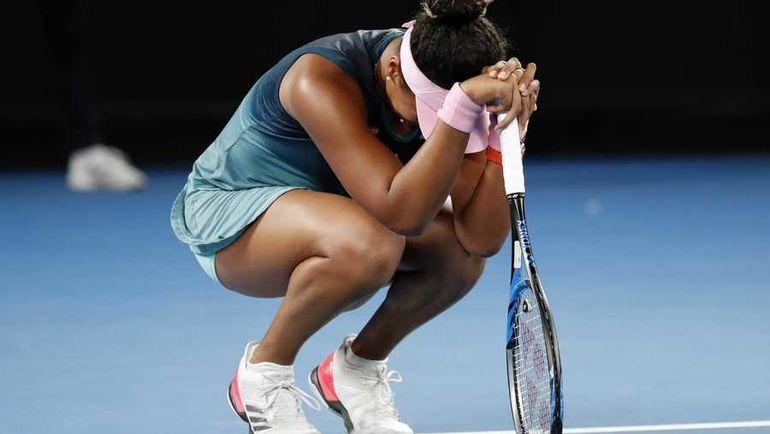 26 января. Мельбурн. Только что Наоми Осака стала чемпионкой Australian Open-2019. Фото AFP