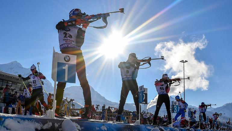 Биатлонистов могут пожизненно дисквалифицировать за употребление эритропоэтиа. Фото AFP