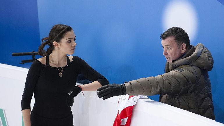 Евгения Медведева и Брайан Орсер. Фото Ксения Нуртдинова
