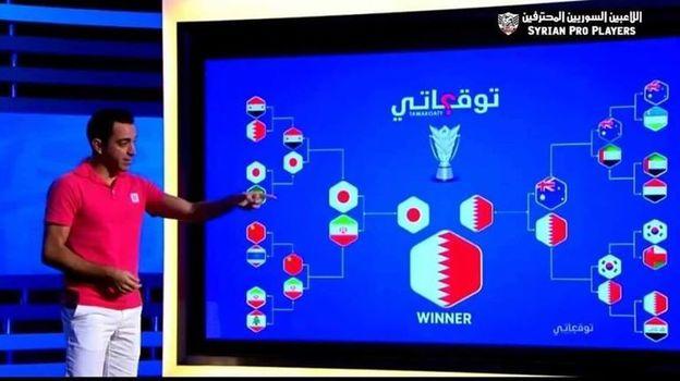 Прогноз Хави на плей-офф Кубка Азии. Фото Fox Sports Asia