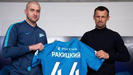 Ярослав Ракицкий и Сергей Семак.