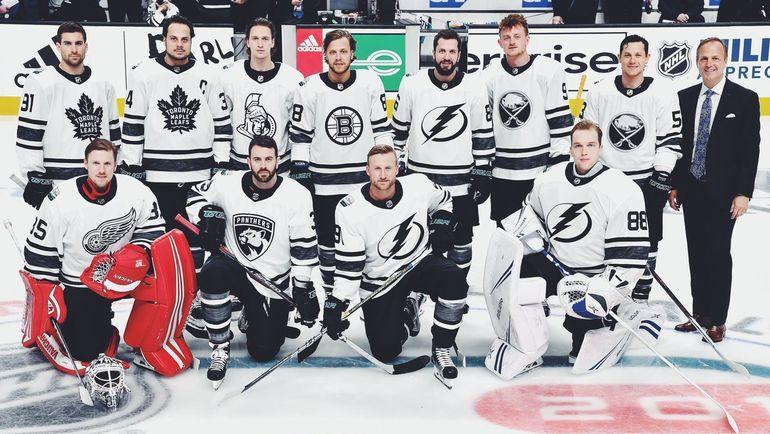 Команда Атлантического дивизиона на Матче звезд. Фото НХЛ