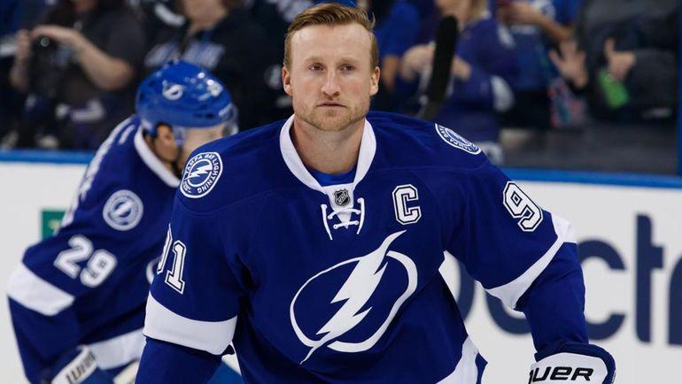 Стивен Стэмкос. Фото НХЛ