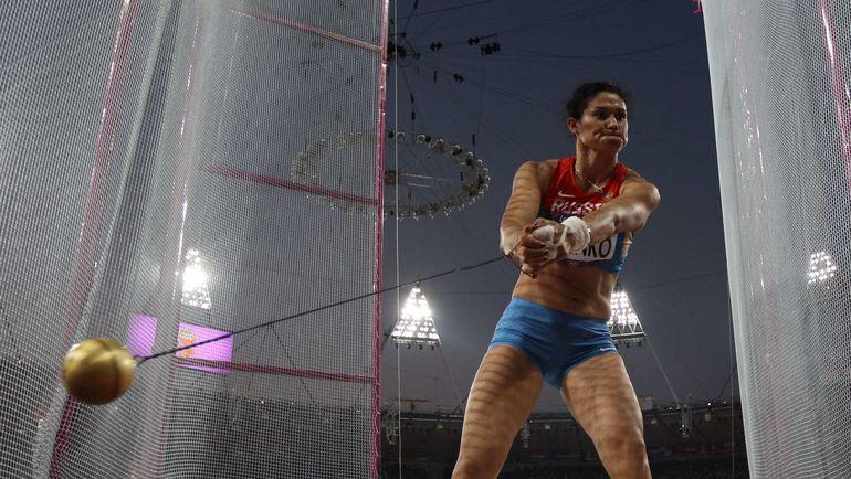 Татьяна Лысенко. Фото AFP
