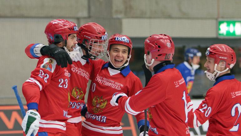 Сборная России - чемпион мира. Фото ifkvanersborg.se