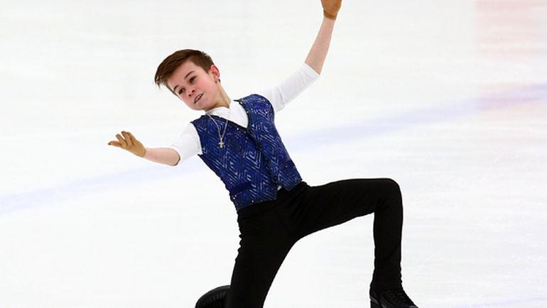 Даниил Самсонов - победитель первенства России среди юниоров. Фото Михаил Шаров, Федерация фигурного катания на коньках России.
