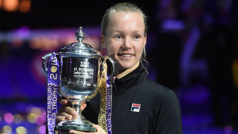 WTA St. Petersburg Ladies Trophy. Финал. Кики Бертенс – Донна Векич – 7:6 (7:2), 6:4. Кто стал чемпионкой