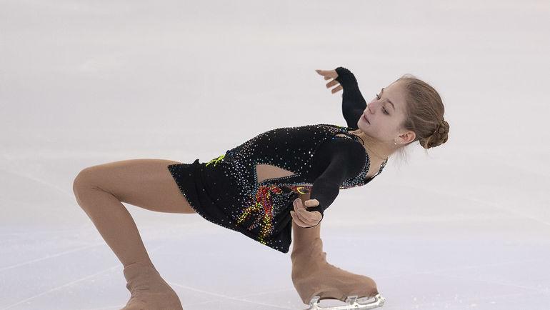 Фигурное катание, чемпионат России-2019 среди юниоров в Перми, Александра Трусова выиграла у девушек, мировой рекорд
