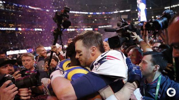 "4 февраля. Атланта. ""Лос-Анджелес Рэмс"" - ""Нью-Ингленд Пэтриотс"" - 3:13. Фото Reuters"