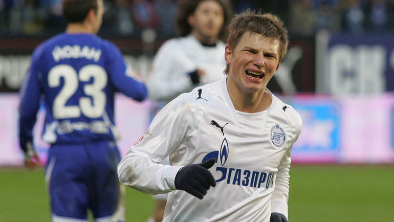 """Зенит"" просил за Андрей Аршавина (справа) не менее 18 миллионов евро. Фото Александр Вильф"