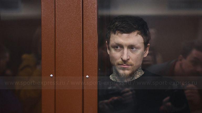 Павел Мамаев в камере на заседании суда. Фото Дарья Исаева, «СЭ»