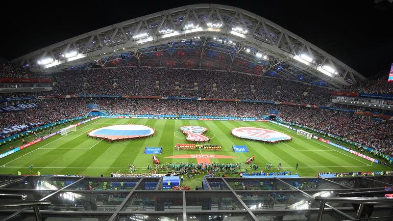 "Стадион ""Фишт"". Фото Дарья Исаева, ""СЭ"""