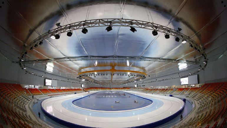 "Конькобежный центр ""Адлер-Арена"". Фото REUTERS"