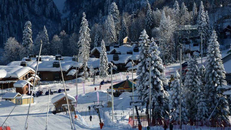 "Лыжно-биатлонный центр ""Лаура"". Фото AFP"