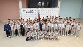 Олимпийскую команду России проводили в Сараево