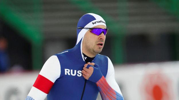 Коньки, чемпионат мира-2019 в Инцелле, 8 февраля 2019, мужчины 500 м, Руслан Мурашов выиграл золото, Павел Кулижников проиграл