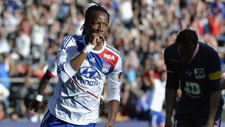 """Бакари Коне перешел в """"Лион"""" в 2011 году. Фото AFP"""