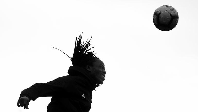 """Бакари Коне на тренировке """"Арсенала"""" на февральском сборе в Белеке. Фото ФК """"Арсенал"""""""